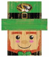 """Missouri Tigers 19"""" x 16"""" Leprechaun Head"""
