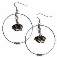 """Missouri Tigers 2"""""""" Hoop Earrings"""