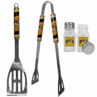 Missouri Tigers 2 Piece BBQ Set with Salt & Pepper Shakers