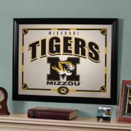 """Missouri Tigers 23"""" x 18"""" Mirror"""