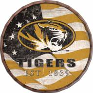 "Missouri Tigers 24"" Flag Barrel Top"