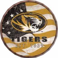 """Missouri Tigers 24"""" Flag Barrel Top"""