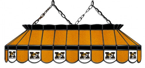 """Missouri Tigers 40"""" Stained Glass Pool Table Light"""