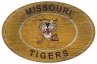 "Missouri Tigers 46"" Heritage Logo Oval Sign"