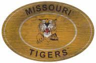 "Missouri Tigers 46"" Heritage Logo Oval Sign"