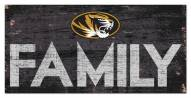 "Missouri Tigers 6"" x 12"" Family Sign"