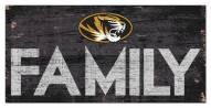 "Missouri Tigers 6"" x 12"" Family Sign"
