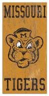 "Missouri Tigers 6"" x 12"" Heritage Logo Sign"