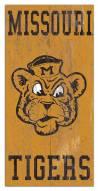"Missouri Tigers 6"" x 12"" Heritage Logo Sign"