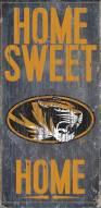 "Missouri Tigers 6"" x 12"" Home Sweet Home Sign"