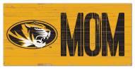 """Missouri Tigers 6"""" x 12"""" Mom Sign"""