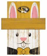 "Missouri Tigers 6"" x 5"" Easter Bunny Head"