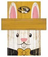 "Missouri Tigers 6"" x 5"" Easter Bunny Head"
