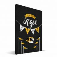 "Missouri Tigers 8"" x 12"" Little Man Canvas Print"