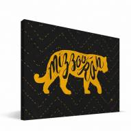 """Missouri Tigers 8"""" x 12"""" Mascot Canvas Print"""
