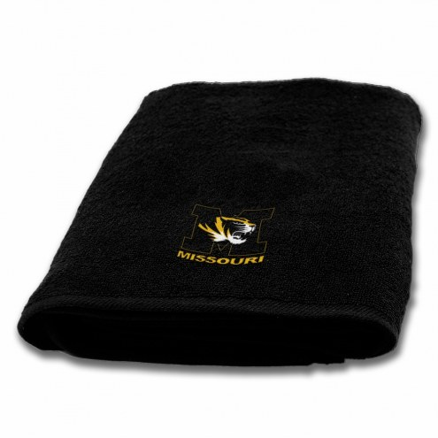 Missouri Tigers Applique Bath Towel
