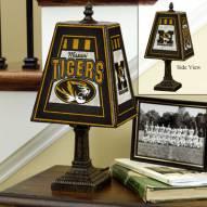 Missouri Tigers Art Glass Table Lamp