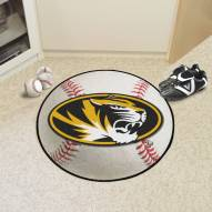 Missouri Tigers Baseball Rug