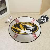 Missouri Tigers Baseball Rug