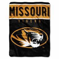Missouri Tigers Basic Raschel Blanket