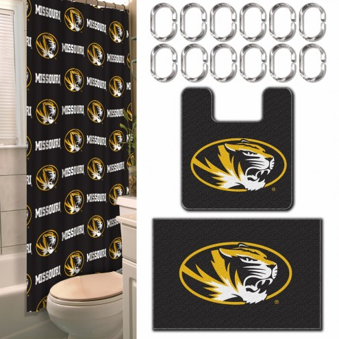 Missouri Tigers Bathroom Set