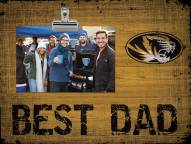 Missouri Tigers Best Dad Clip Frame