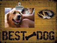 Missouri Tigers Best Dog Clip Frame