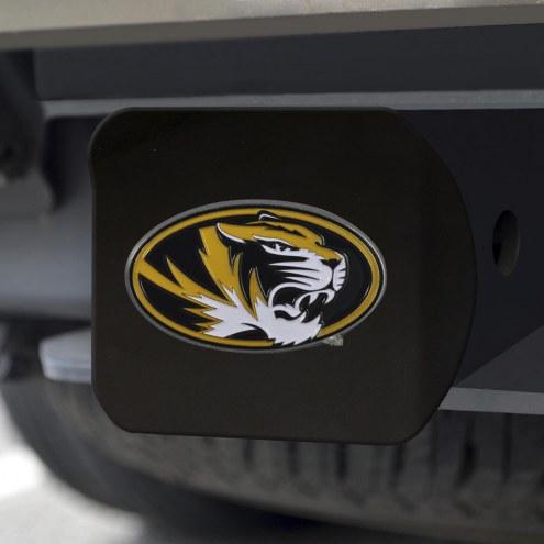 Missouri Tigers Black Color Hitch Cover