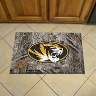 Missouri Tigers Camo Scraper Door Mat