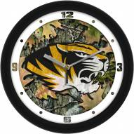 Missouri Tigers Camo Wall Clock