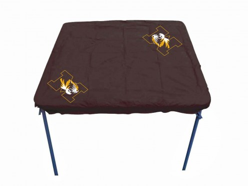 Missouri Tigers Card Table Cover