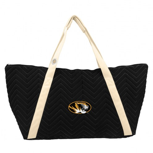 Missouri Tigers Chevron Stitch Weekender Bag