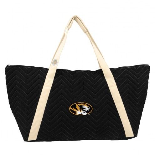 Missouri Tigers Chevron Stitch Weekender Bag