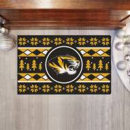 Missouri Tigers Christmas Sweater Starter Rug