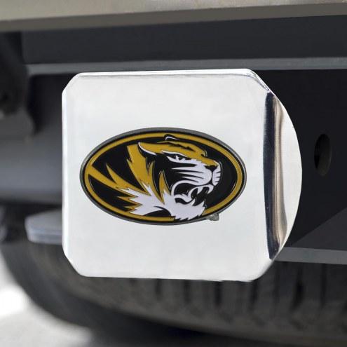 Missouri Tigers Chrome Color Hitch Cover