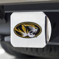 Missouri Tigers Chrome Color Hitch Cover