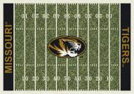 Missouri Tigers College Home Field Area Rug