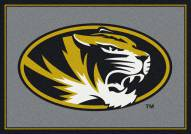 Missouri Tigers College Team Spirit Area Rug