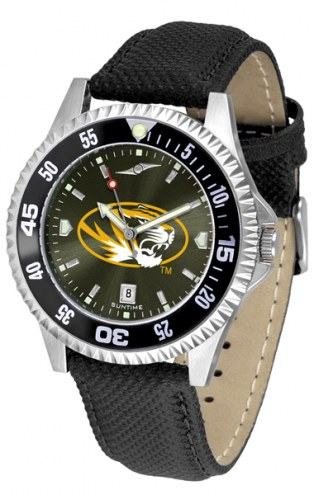 Missouri Tigers Competitor AnoChrome Men's Watch - Color Bezel