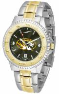 Missouri Tigers Competitor Two-Tone AnoChrome Men's Watch