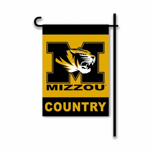 Missouri Tigers Country Garden Flag