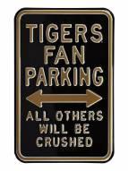Missouri Tigers Crushed Parking Sign