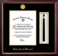 Missouri Tigers Diploma Frame & Tassel Box