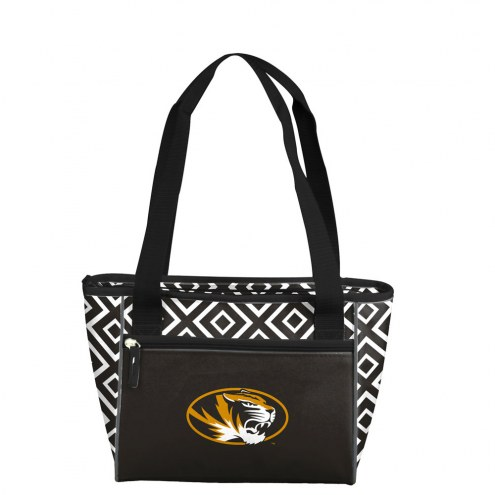 Missouri Tigers Double Diamond Cooler Tote