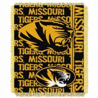 Missouri Tigers Double Play Woven Throw Blanket