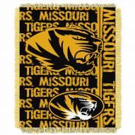 Missouri Tigers Double Play Woven Throw Blanket