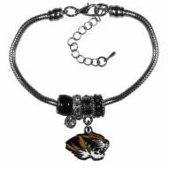 Missouri Tigers Euro Bead Bracelet