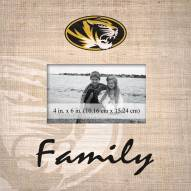Missouri Tigers Family Picture Frame
