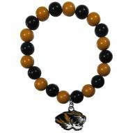 Missouri Tigers Fan Bead Bracelet