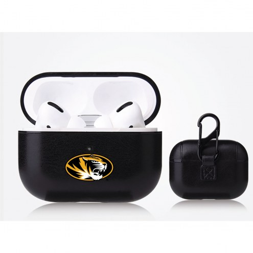 Missouri Tigers Fan Brander Apple Air Pod Pro Leather Case